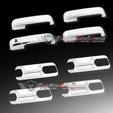 15-17 Ford F-150 Triple Chrome 4 Door Handle Covers Include Bucket Cover Trim