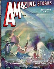 HIGH GRADE! Dec 1932 Bedsheet-size Mag! 25c AMAZING STORIES Scientific Fiction