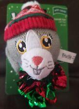 Time for Joy Christmas Holiday Bandit Fun Rabbit Catnip Cat Toy