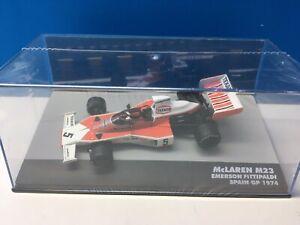 McLaren M23 Spain GP 1974 #5 Emerson Fittipaldi IXO Altaya Eaglemoss 1:43 F1