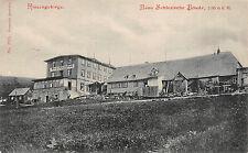 Riesengebirge Neue Schlesische Baude Postkarte 1905 eingetr. Schutzmarke