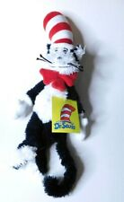 "The Cat In The Hat Dr Seuss Plush Stuffed Animal Toy Approx.14""Black White Red"