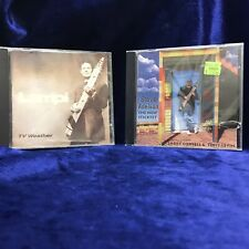 CHAPMAN STICK MASTERS 2 CD LOT: Jim Lampi TV Weather Steve Adelson New Sticktet