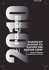 Polaris Owners Manual Book 2010 RANGER CREW