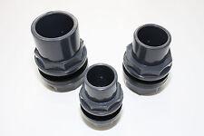 PVC - U Durchführung Tankdurchführung Tankverschraubung Klebemuffe Teichfilter
