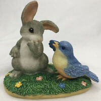 Charming Tails A Little Bird Told Me 89 Of 720 Fitz And Floyd Bunny Bird Easter