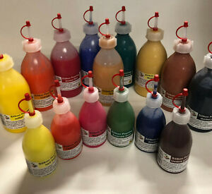 POURING Acrylic Farben 250ml Just4Art gebrauchsfertig, leicht zu dosieren