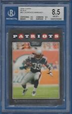 Laurence Maroney, New England Patriots / 2008 Topps Black #82 / Graded BGS 8.5