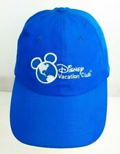 DISNEY VACATION CLUB MEMBER BASEBALL HAT CAP TURQUOISE BLUE EMBROIDERED ONE-SIZE