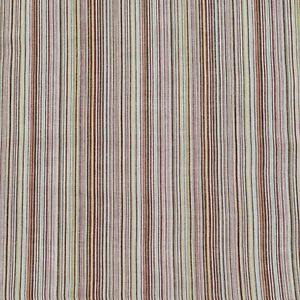 """Cotton Voile Fabric Multicolour Striped 53"""" Wide Sold By The Metre"""