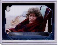 SEASON 18 2016 Topps Doctor Who Card #183 PURPLE Foil #/99 Tom Baker Time Lord