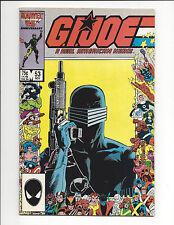 Marvel G.I. Joe A Real American Hero #53 Fine Fs