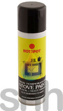 Hotspot Stove Paint High 650 Degrees Black Matt Finish Aerosol Spray 450ml