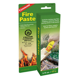COGHLANS FIRE PASTE - QUICK CLEAN FIRE STARTING WITHOUT FLARE-UP (COG 8607)
