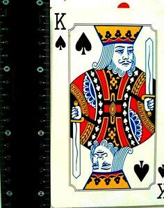 Pokerkarten XXXL Kartenspiel  52 + 2 Joker Spielkarte ca. 17x 9 cm 🧐