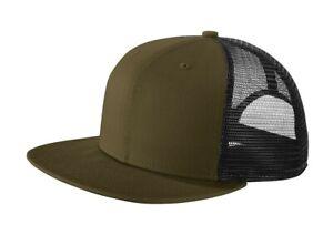 NEW ERA Classic 9FIFTY Flat Bill Snapback Adjustable Fit TRUCKER Cap Hat New!