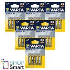 24 VARTA Superlife Potencia Zinc-Carbono Aa LR6 Baterías 1.5V Mignom Stilo 2006