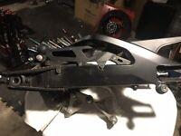 17-18 Suzuki GSXR 1000 Rear Swing Arm Swingarm Shock Linkage Axle OEM
