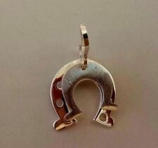 Horseshoe for good luck Silver Pendant # Sterling Silver 925