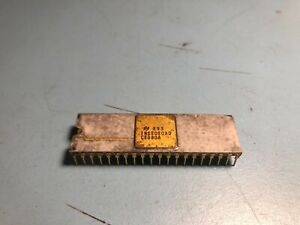Tested working National Semiconductor 8080 CPU INS8080AD Ceramic not Intel