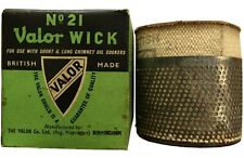 Valor Paraffin Heater Wick No 21,for Short and Long Chimney Oil Cookers.Original