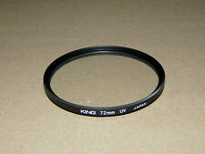 FILTRO PROTECTOR 72MM DOBLE ROSCA MARCA KING