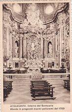 ACQUASANTA - Interno Santuario - Abside in Pregevoli Marmi Policromi del 1700