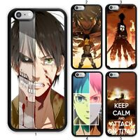 Attack on Titan Eren Case Cover For Samsung Galaxy Note / Apple iPhone 11 iPod