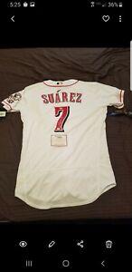 Eugenio Suarez Fanatics Authentic Signed Jersey