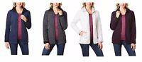 NEW Ladies' Weatherproof 32 Degrees Heat Sherpa Lined Fleece Jacket - VARIETY