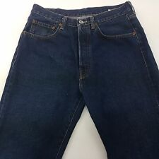 REPLAY M902 Mens Jeans W33 L36 Dark Blue Regular Fit Straight High Rise