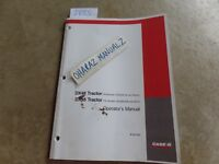 CASE DX48 & DX55 Tractor HDG500142/600346 & Up Operator's Manual  87351391