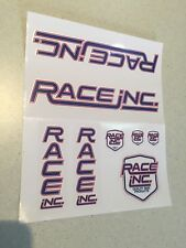 Race Inc Old School Bmx Stickers Decals New Vintage PK Ripper