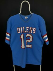 Rawlings Vintage 80s Houston Oilers Jersey Size L NFL #12