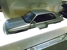 Bmw 3er m3 e30 Ravaglia 1989 gris plata met Minichamps DIECAST 1:18