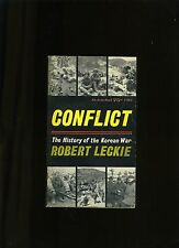 MILITARY COLL-CONFLICT, LECKIE-VINT AVON PB. 1ST ED 1962. VG+. RARE COLLECTABLE