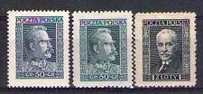 POLOGNE POLSKA Yvert n° 343/344 neuf avec charnière