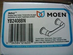 Moen  YB2408BN, YB2408CH  Method Pivoting Paper Holder