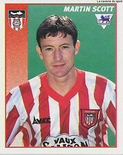 N°445 MARTIN SCOTT SUNDERLAND.FC STICKER MERLIN PREMIER LEAGUE 1997