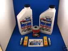 Honda TRX350 4X4 86-89 Oil Filter Spark Plug Tune Up
