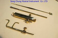 4pcs various Violin tools,soundpost Gauge/setter and purfle cutter