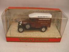 MATCHBOX MODELS OF YESTERYEAR 1:39 Y-19 1929 MORRIS COWLEY VAN J.SAINSBURY MIB