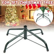 7ft Artificial Christmas Tree Stand Holder Base Iron Holiday Gifts Home Decor