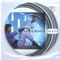 "NM/NM DAVID BOWIE SURVIVE 7"" VINYL PICTURE PIC DISC"