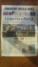 PARIGI 13/NOVEMBRE/2015@ ATTACCO TERRORISTICO  LA GUERRA A PARIGI @