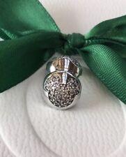Genuine Pandora Disney Silver CZ Mickey Mouse Pave Clip Charm #791449CZ