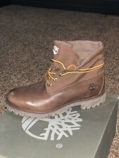 Timberland Men's roll top Brown With Canvas 214