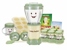 20Pc Set Complete Baby Bullet Food Making Processor Juicer Chopper Mixer Blender