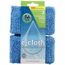 2 x E-Cloth Fresh Mesh Microfibre Cleaning Pads Kitchen Bathroom Wiping Dry Fast