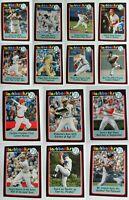 2020 Topps Heritage Baseball Flashbacks Card Complete Your Set U You Pick List